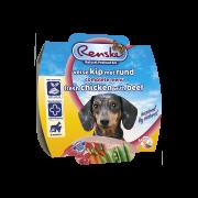 Renske Vers Hond kip met rund mousse