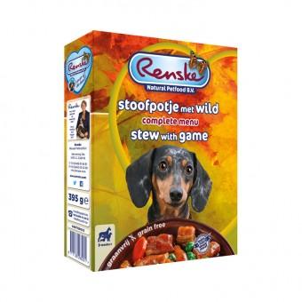 Renske Vers Hond stoofpotje wild (graanvrij)