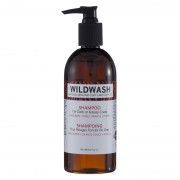 WildWash Shampoo donkere & vette vacht