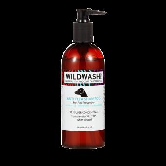 WildWash Shampoo Anti Vlo, Vlieg, Mijt, Teek