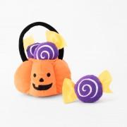Zippy Paws Halloween Burrow Trick or Treat Basket