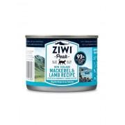 ZiwiPeak Kat Blikvoer makreel & lam